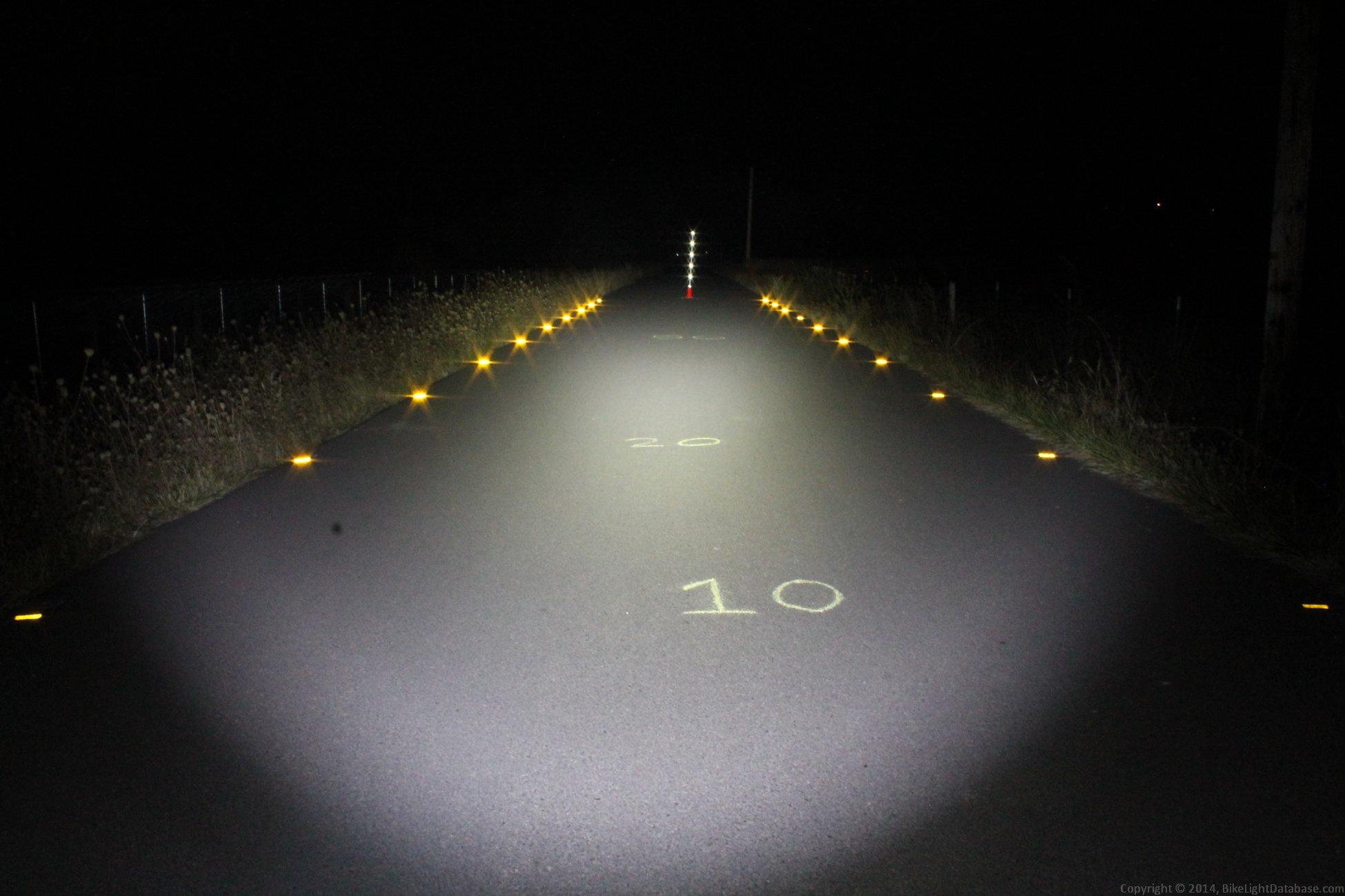 Generic Cree U2 Generic Light Review The Bike Light Database