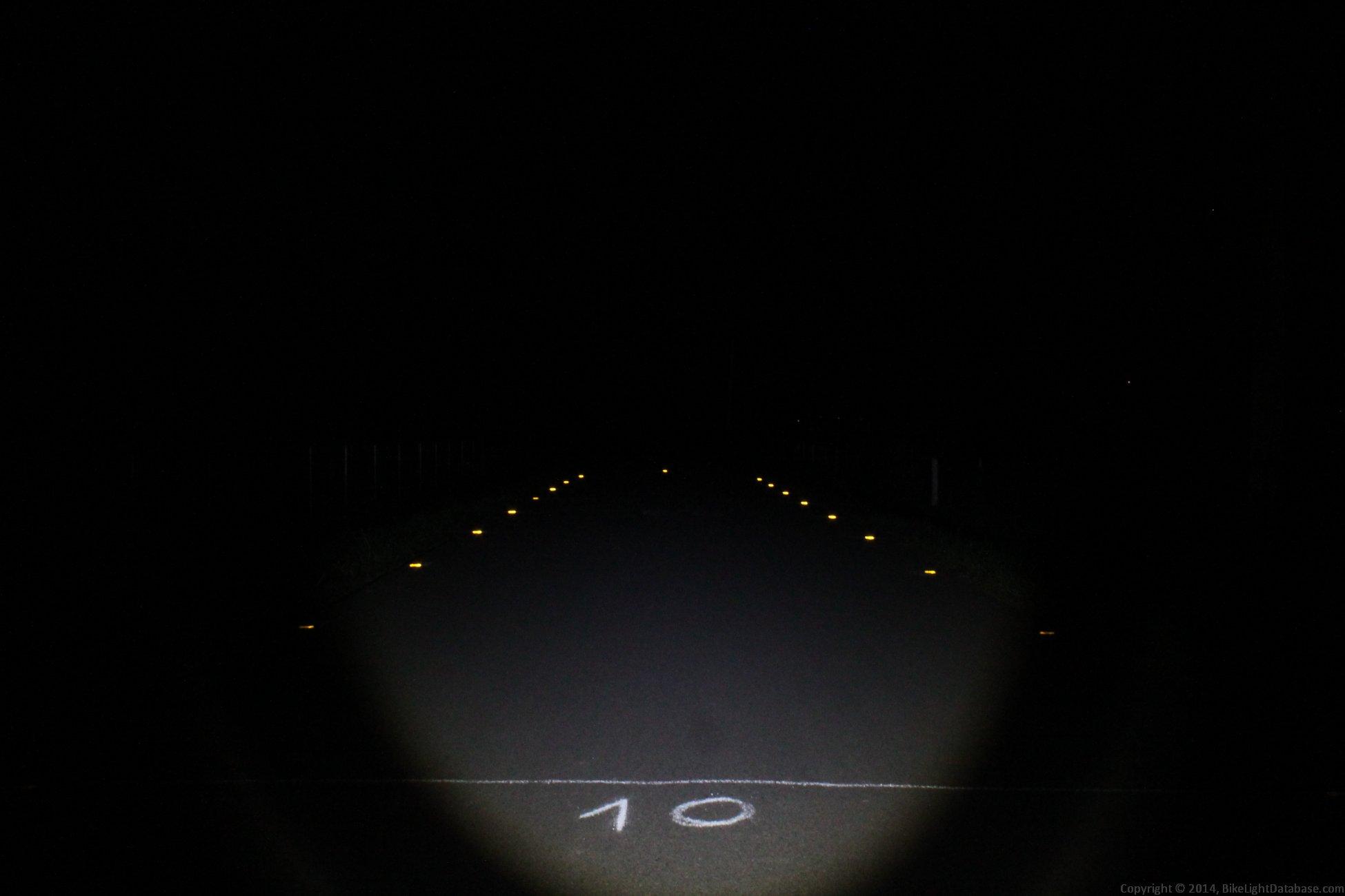 bike light beamshot pic