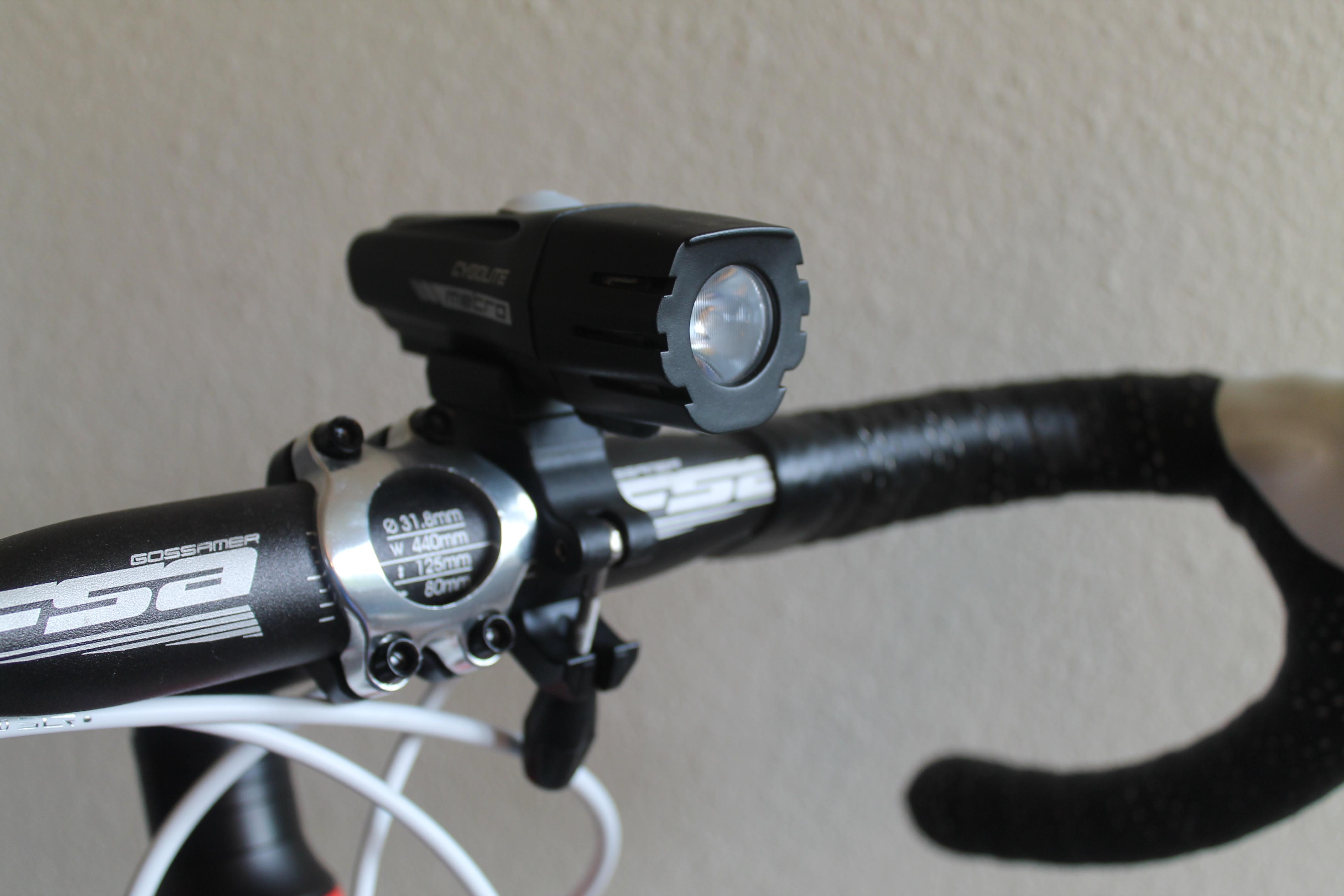 Cygolite Metro 750 Review The Bike Light Database Advanced Bicycle Lightings