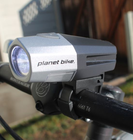 Planet Bike Blaze 650 Xlr Review The Bike Light Database