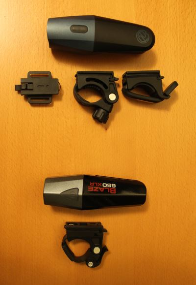 Lars Rover mounts compared to Planet Bike Blaze XLR