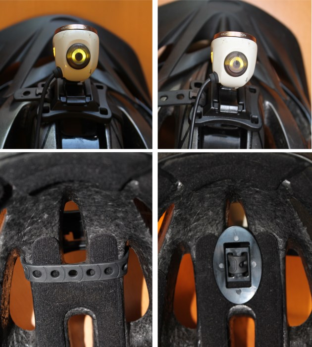 Mounting strap options
