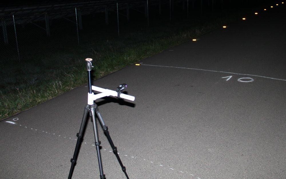 Testing set up